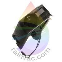 Face Plate Assembly, E2 Type 12 (Black) - NON LED