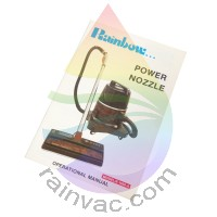 R-1650A Rainbow Power Nozzle Owner's Manual (English)