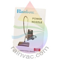 R-1650C/F Rainbow Power Nozzle Owner's Manual (English)