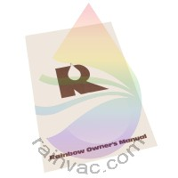 D4C Rainbow Vacuum Owner's Manual (English)