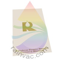 R-2800C Rainbow Power Nozzle Owner's Manual (English)