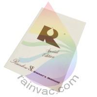 D4C SE v1 Rainbow Vacuum Owner's Manual (English)