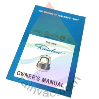 D v3 Rainbow Vacuum Owner's Manual (English)