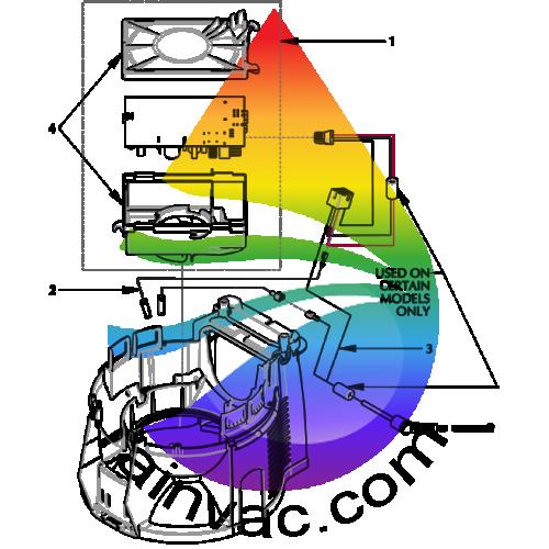 how to change hepa filter on rainbow vacuum e2 series