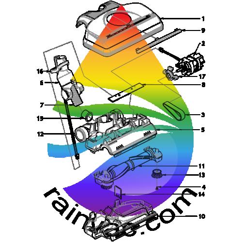rainbow se series vacuum switch wiring schematic 1987 toyota supra vacuum diagram wiring schematic rainbow power nozzle pn-12 parts | rainvac